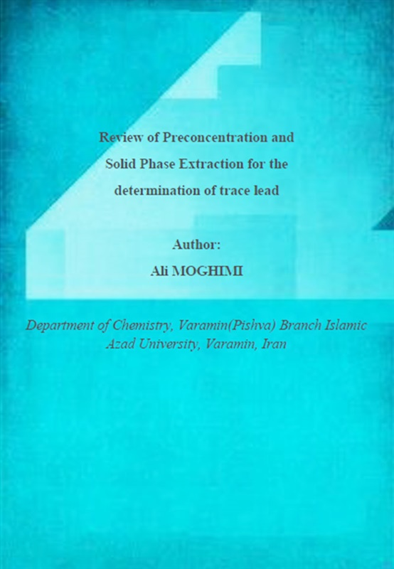 Review of Preconcentration and Solid Phase Extraction for the determination of trace lead