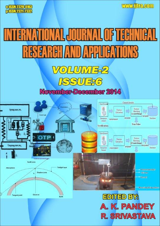 International Journal of Technical Research And Applications(IJTRA)