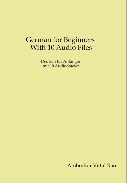 German For Beginners with 10 Internet Link Audio Lession