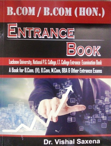 B.Com And B.com (Hons) Entrance Book